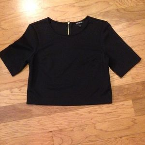 Express Crew-neck Crop Top